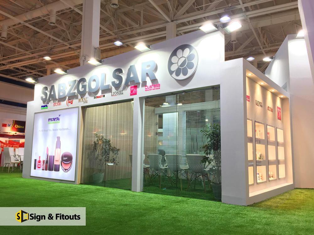 Modular Exhibition Stands Yard : Sign and fitouts exhibition stands