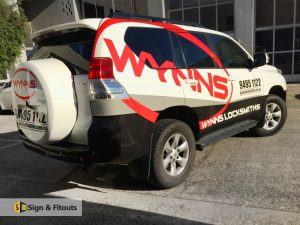 Vehicle signs in Melbourne-Signage Melbourne - Custom sign - Sign maker - Sign writing - Sign and Fitouts
