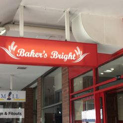 Rectangular Light Box Sign-Signage Melbourne - Custom sign - Sign maker - Sign writing - Sign and Fitouts