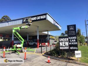 Building signs Melbourne