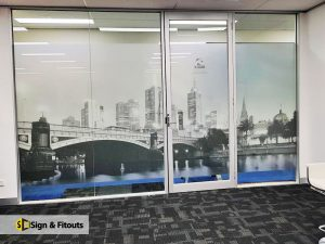 Window Frosting - Sign And Fitouts