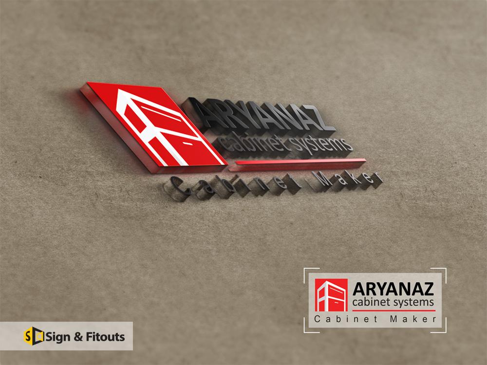 Logo Design ARYANAZ