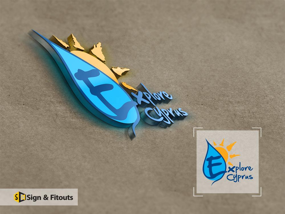 Logo Design Explore Cyprus