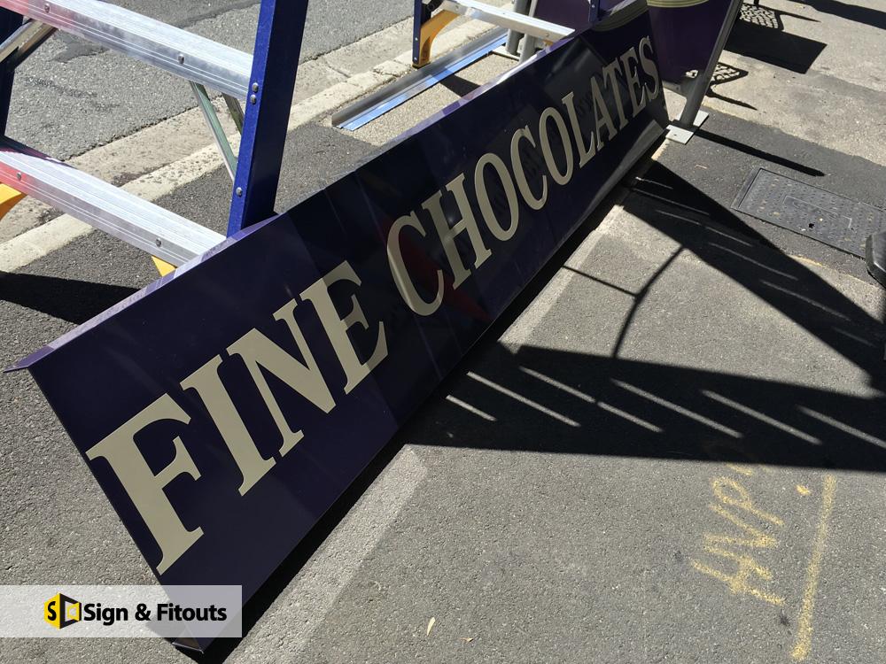 Banner Fine Chocolates