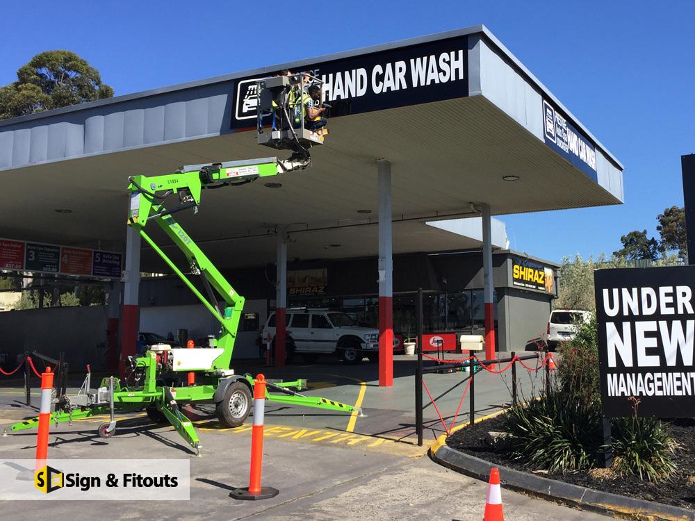 Banner Hand Car Wash