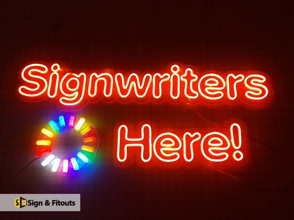 Neon signage, LED Sign, illuminated sign