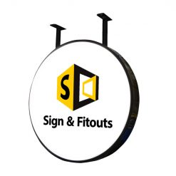 The Circular Sign- Signage Melbourne - Custom sign - Sign maker - Sign writing - Sign and Fitouts