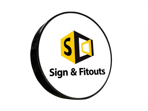 The Circular Sign-Signage Melbourne - Custom sign - Sign maker - Sign writing - Sign and Fitouts