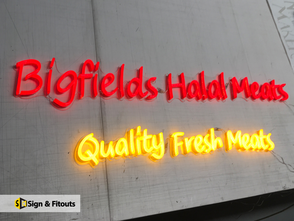 Sign And Fitouts - Neon Signs