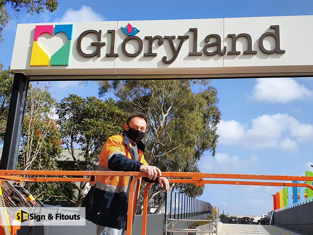 Signage & 3D Sign Installation in Mitcham, Melbourne