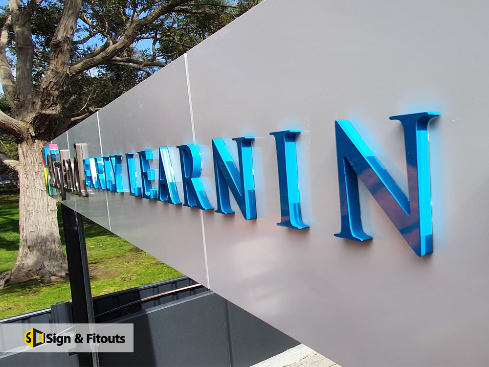 Signage & 3D Sign Installation in Mitcham, Melbourne