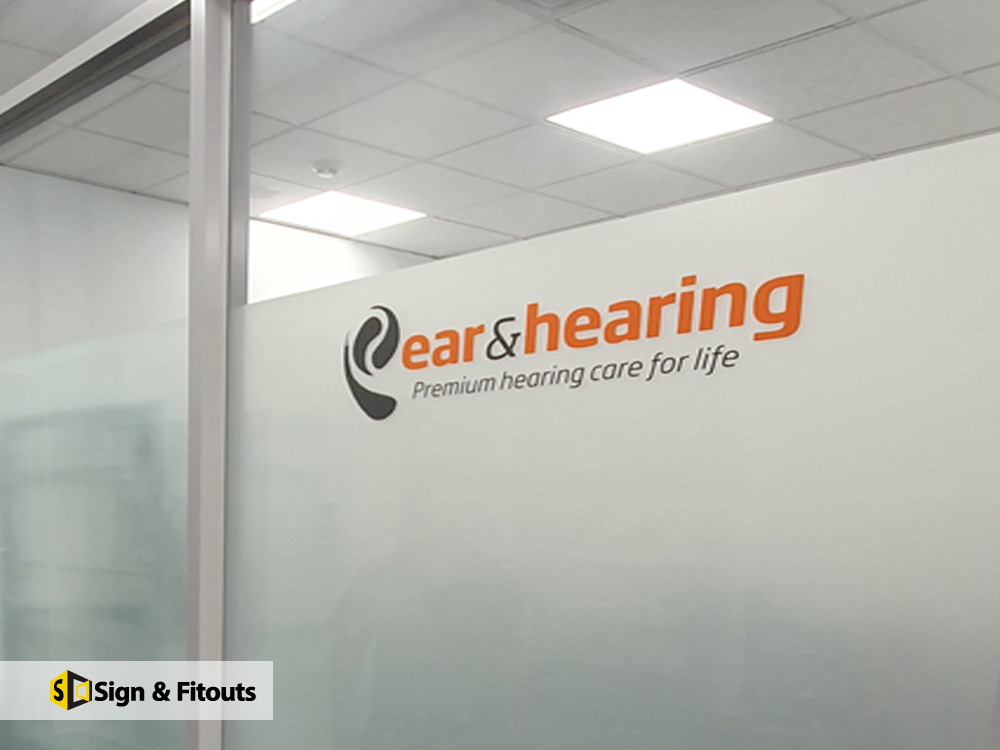 Signage Melbourne - Custom sign - 3D signs - Office sign - 3D lettering - Sign and Fitouts