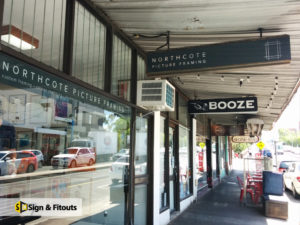 shop signage-Signage Melbourne - Custom sign - Sign maker - Sign writing - Sign and Fitouts